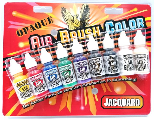 Air brush opaque color exciter pack