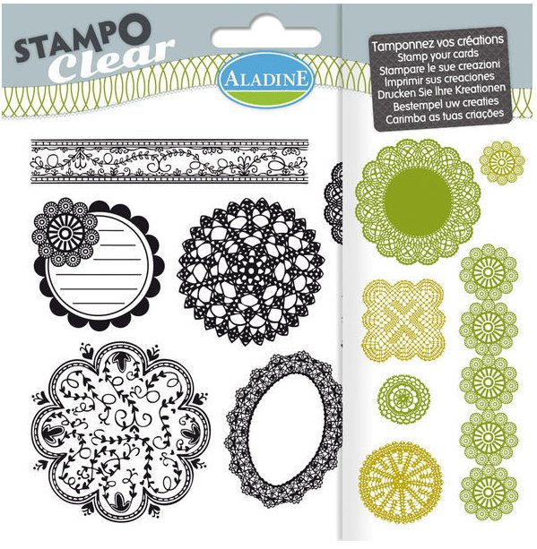 STAMPO CLEAR - PINKS
