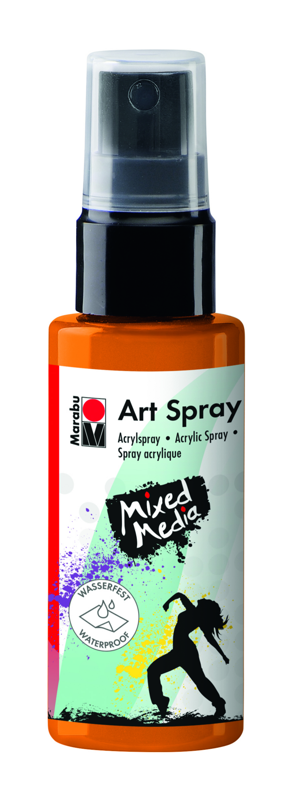 Marabu Art Spray 225 Mandarine
