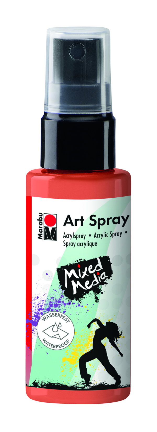 Marabu Art Spray 023 Rotorange