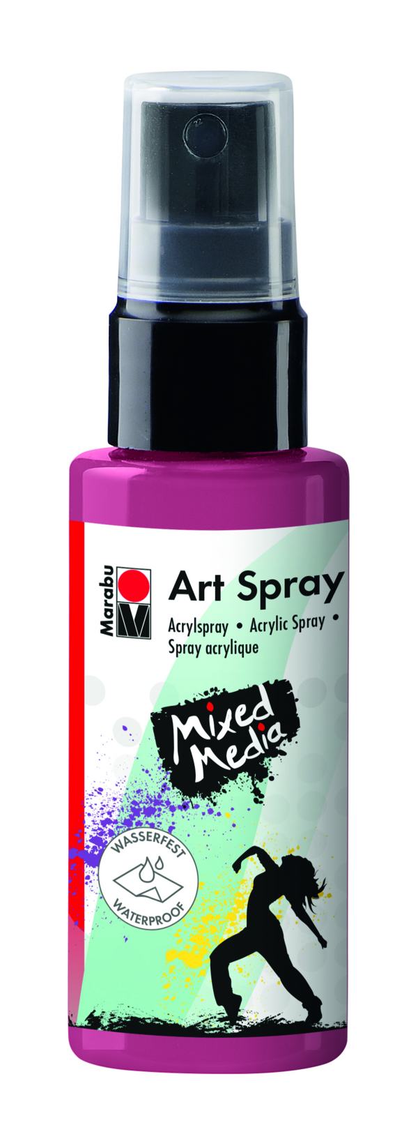 Marabu Art Spray 034 Bordeaux