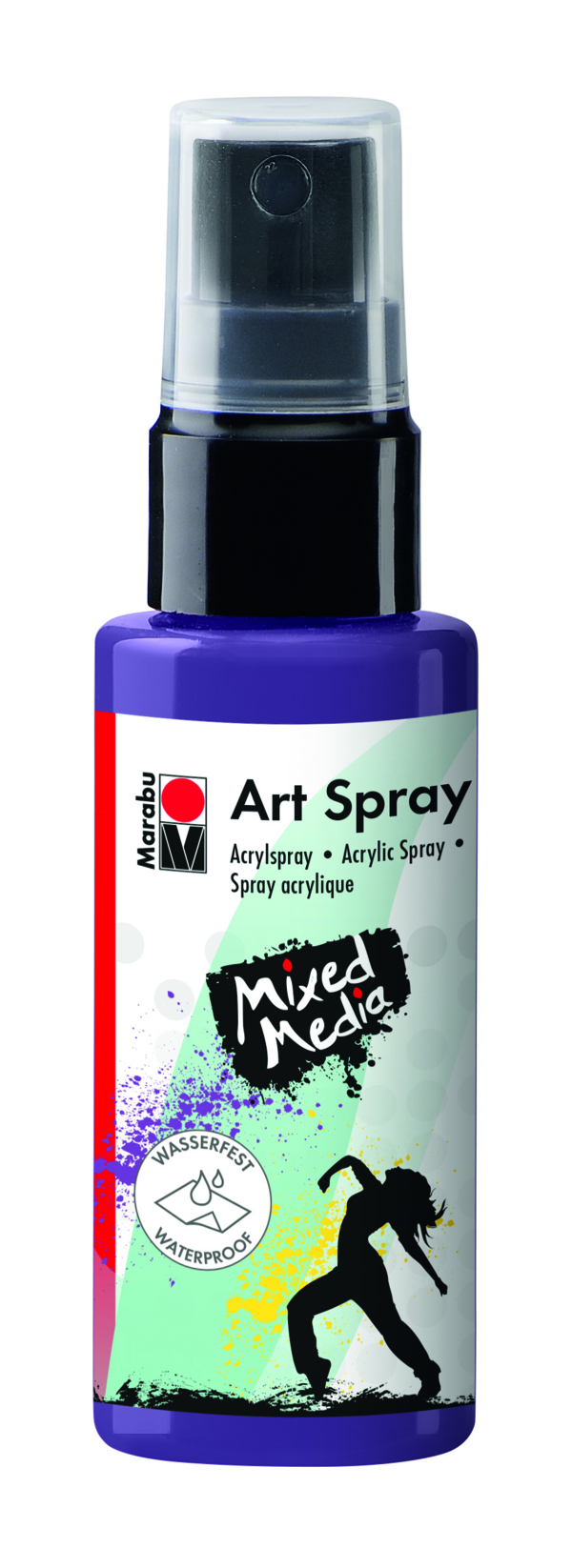 Marabu Art Spray 037 Pflaume
