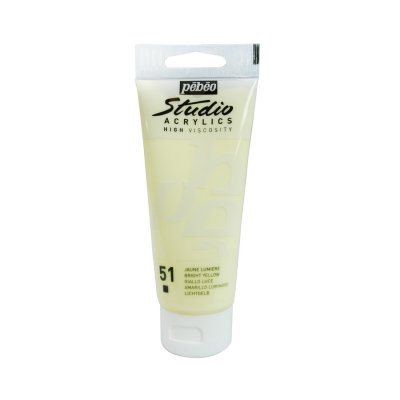 Pébéo Studio acrylics 100 ml - 051 bright yellow