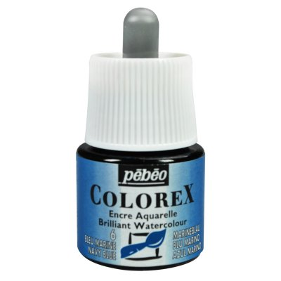 Pébéo COLOREX INK grafický atrament -  06 navy blue