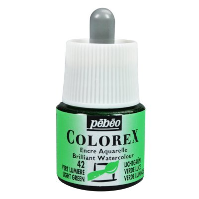 Pébéo COLOREX INK grafický atrament -  42 light green