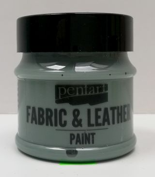 Pentart fabric/leather paint olivová