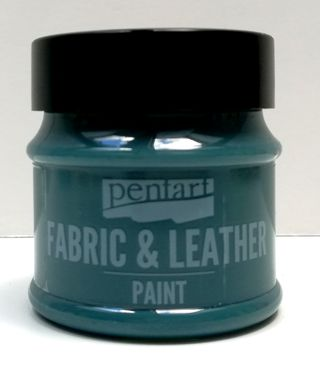 Pentart fabric/leather paint fľaškovo zelená