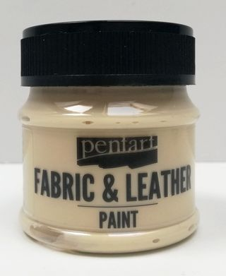 Pentart fabric/leather paint béžová