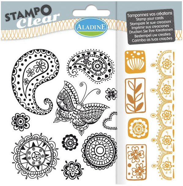 STAMPO CLEAR - ZENTANGLE