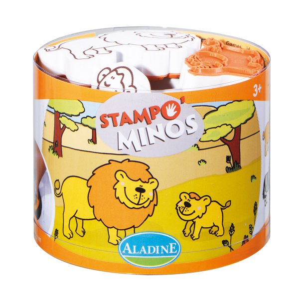 STAMPO MINOS -  Safari - 10 ks