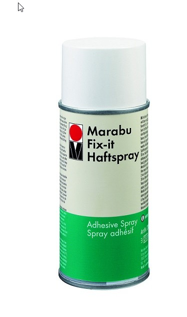 Marabu Fix It haftspray - lepidlo na šablóny