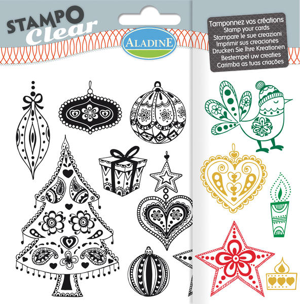 STAMPO CLEAR - DOODLINGOVÉ VIANOCE