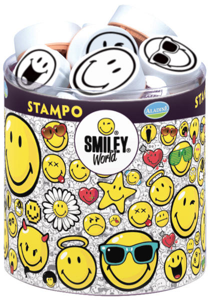 STAMPO SMILEY - Smajlíci 38 ks