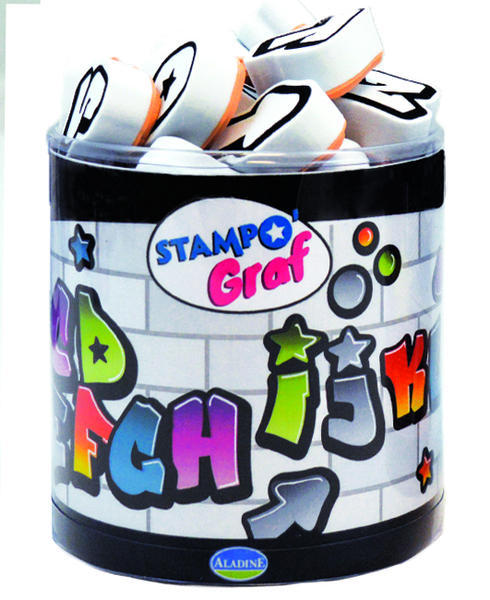 STAMPO FUN - GRAFFITI abeceda