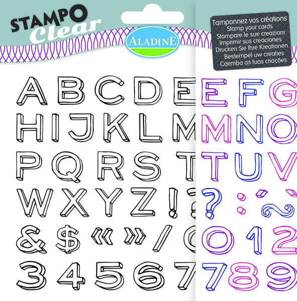 STAMPO CLEAR - ABECEDA NEO
