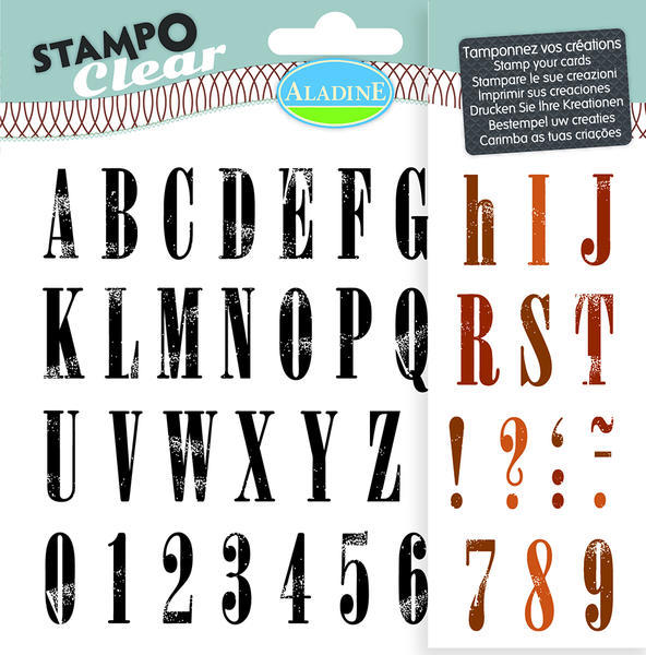 STAMPO CLEAR - ABECEDA STANDFORT