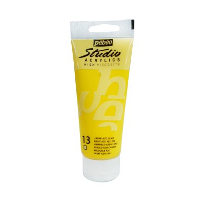 Pébéo Studio acrylics 100 ml - 013 light azo yellow
