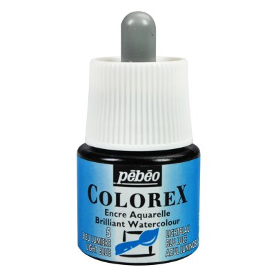 Pébéo COLOREX INK grafický atrament -  05 light blue