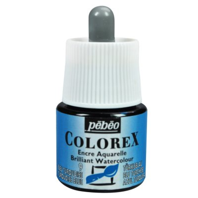 Pébéo COLOREX INK grafický atrament -  09 turquoise blue