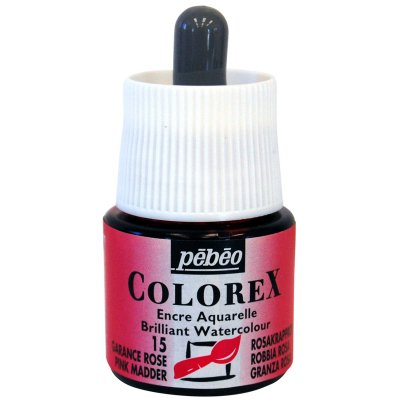 Pébéo COLOREX INK grafický atrament -  15 pink madder