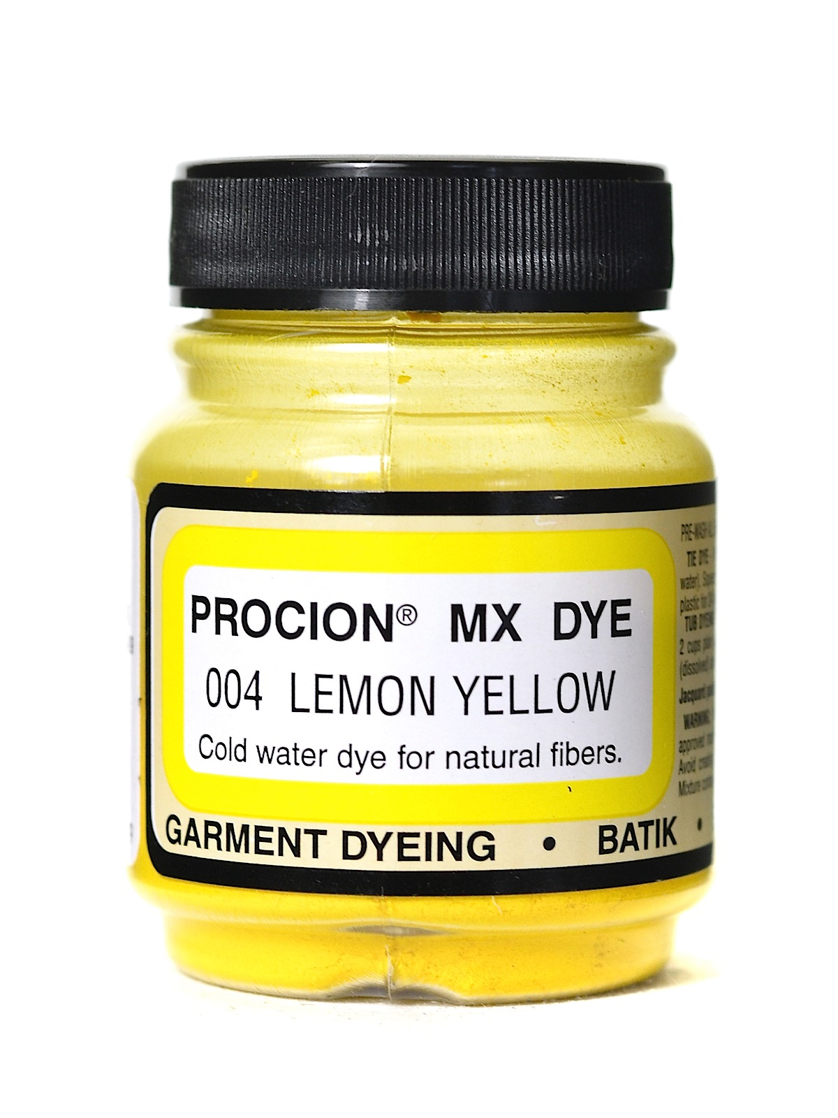 Jacquard Procion MX dye 2004 lemon yellow