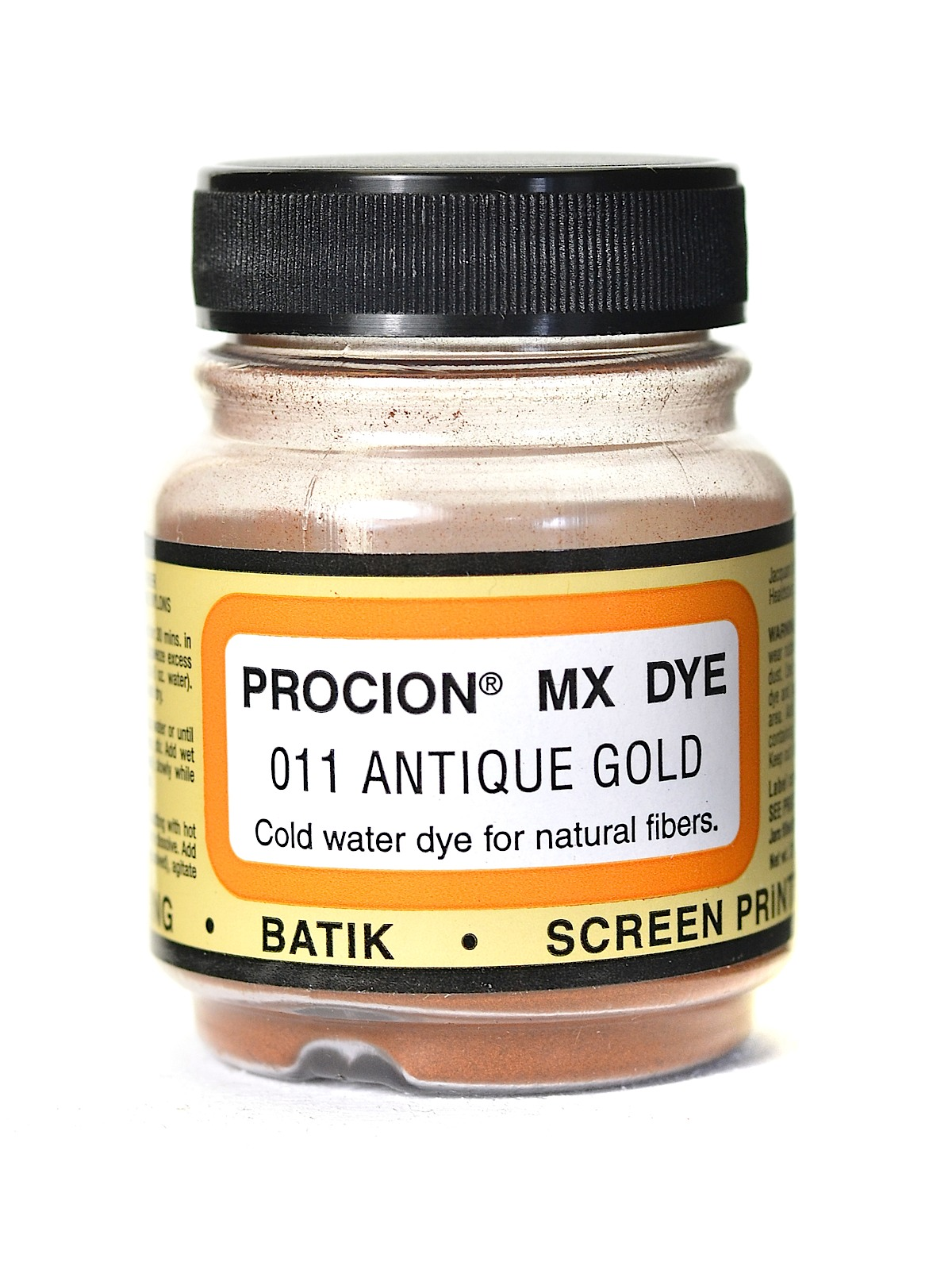 Jacquard Procion MX dye 2011 antique gold