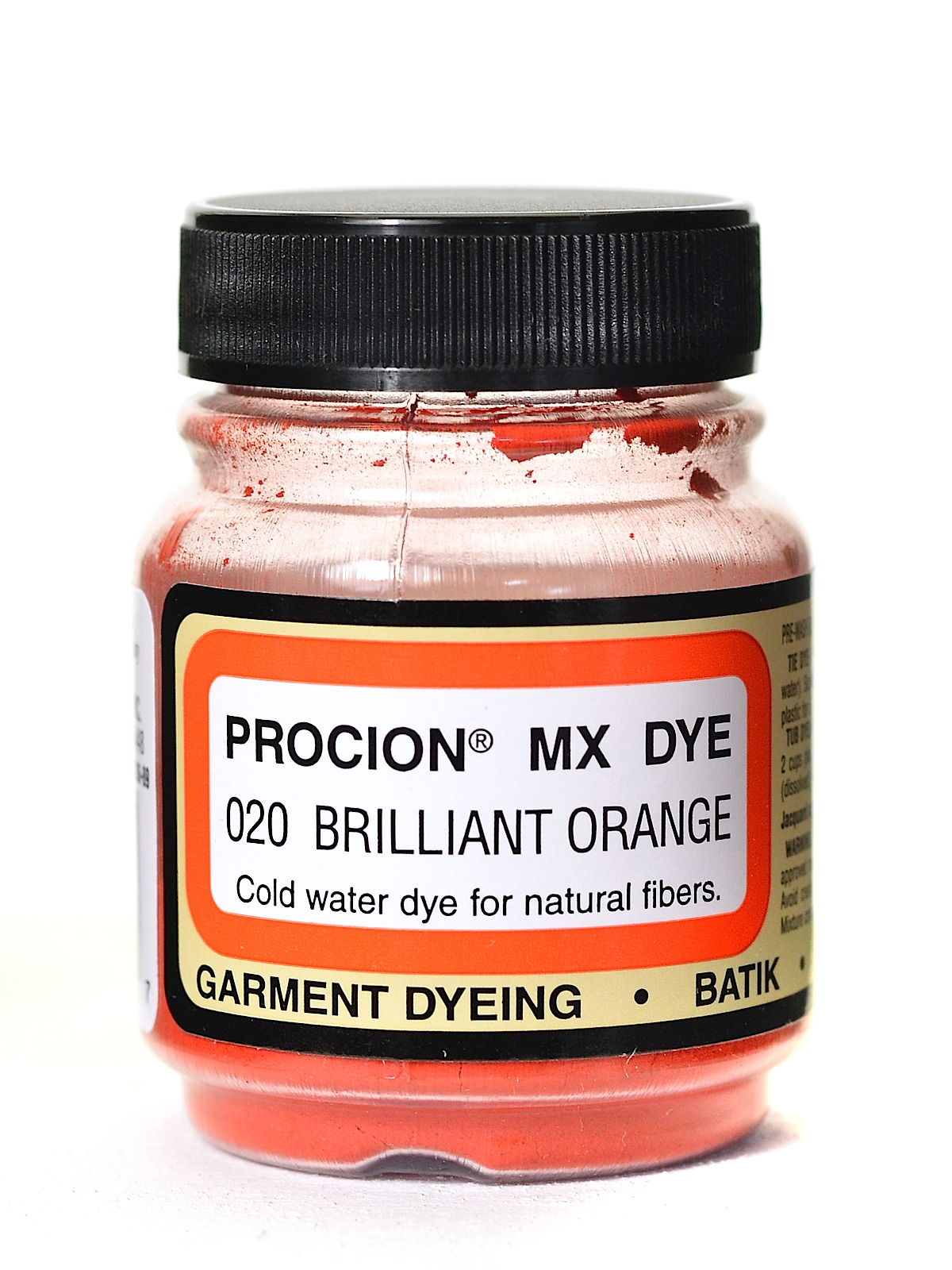 Jacquard Procion MX dye 2020 brilliant orange