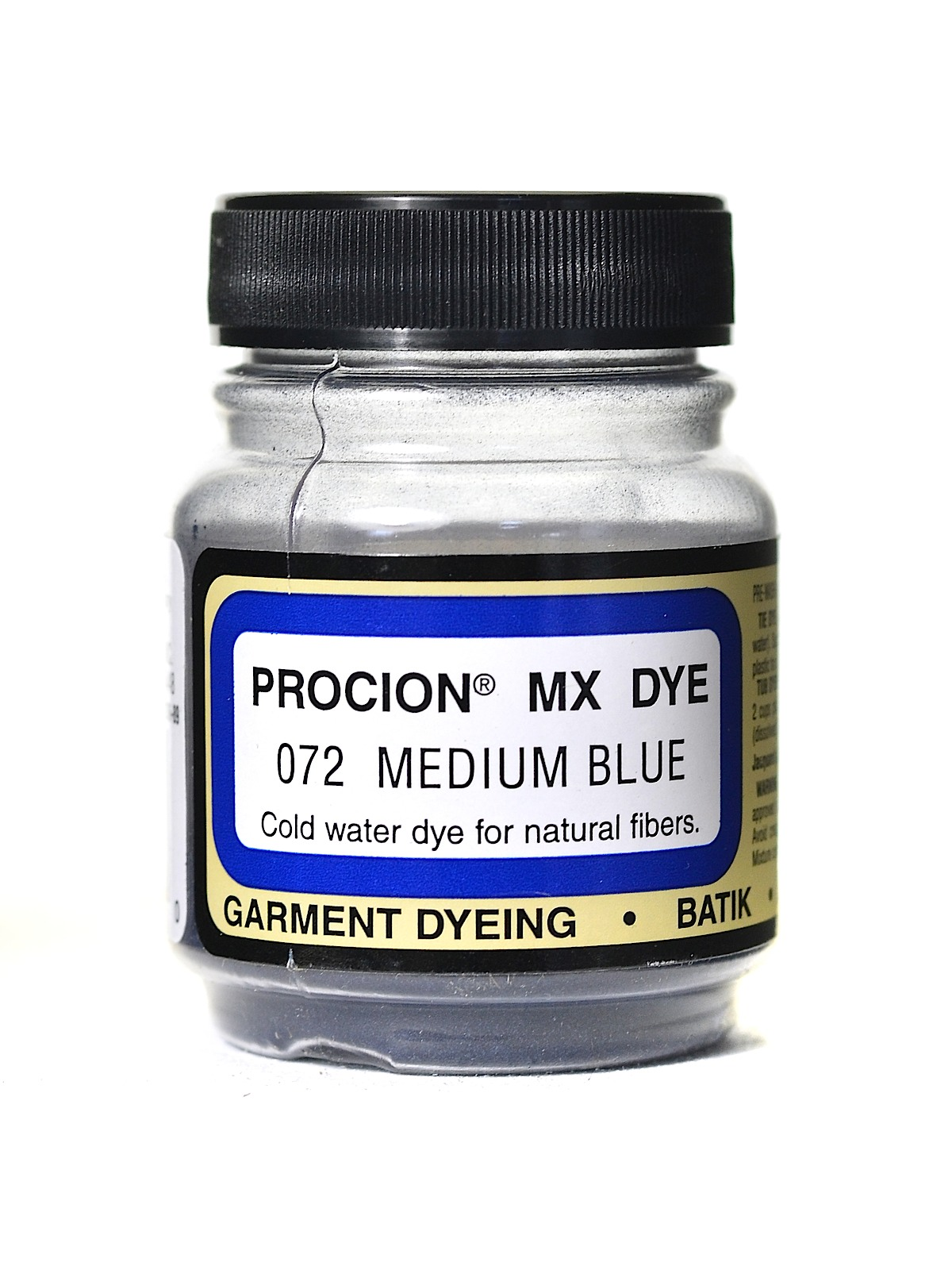 Jacquard Procion MX dye 2072 medium blue
