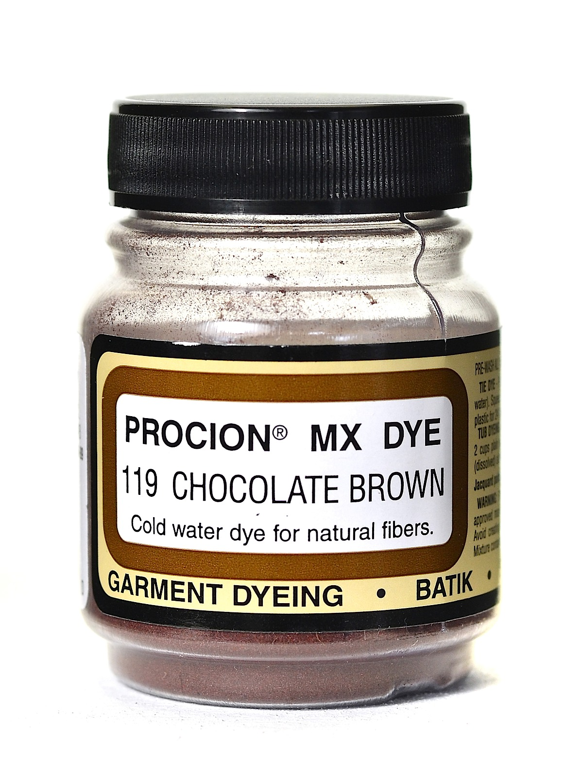 Jacquard Procion MX dye 2119 chocolate brown