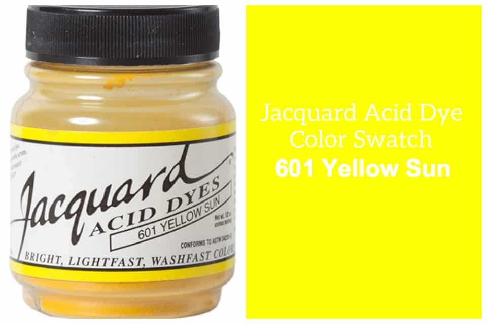 Jacquard Acid  dye 601 sun yellow