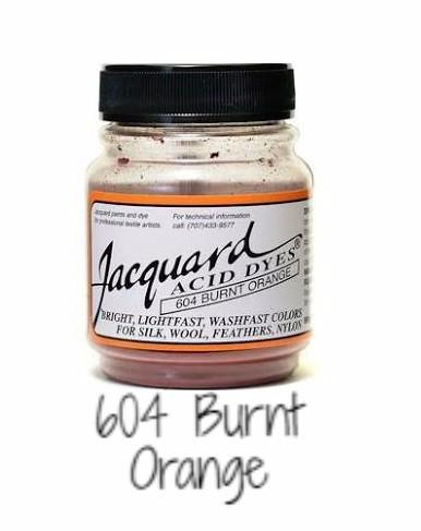 Jacquard Acid  dye 604 burnt orange