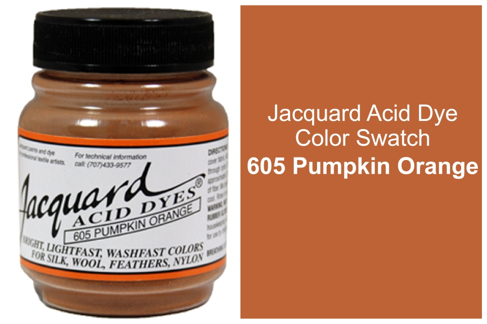 Jacquard Acid  dye 605 pumpkin orange
