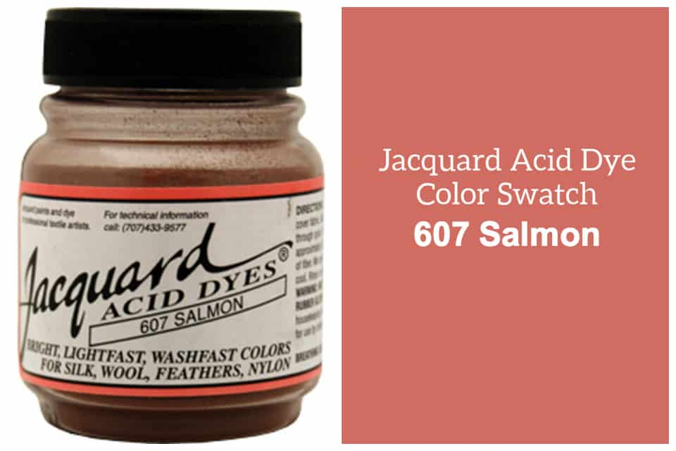 Jacquard Acid  dye 607 Salomon