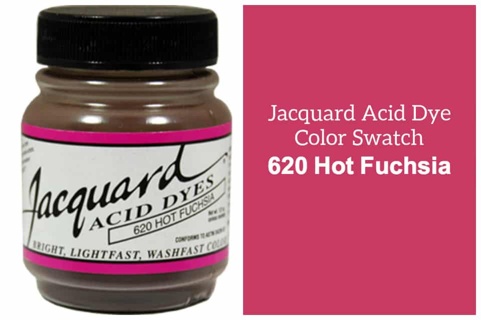 Jacquard Acid  dye 620 Hot fuchsia