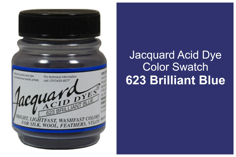 Jacquard Acid  dye 623 Brilliant blue