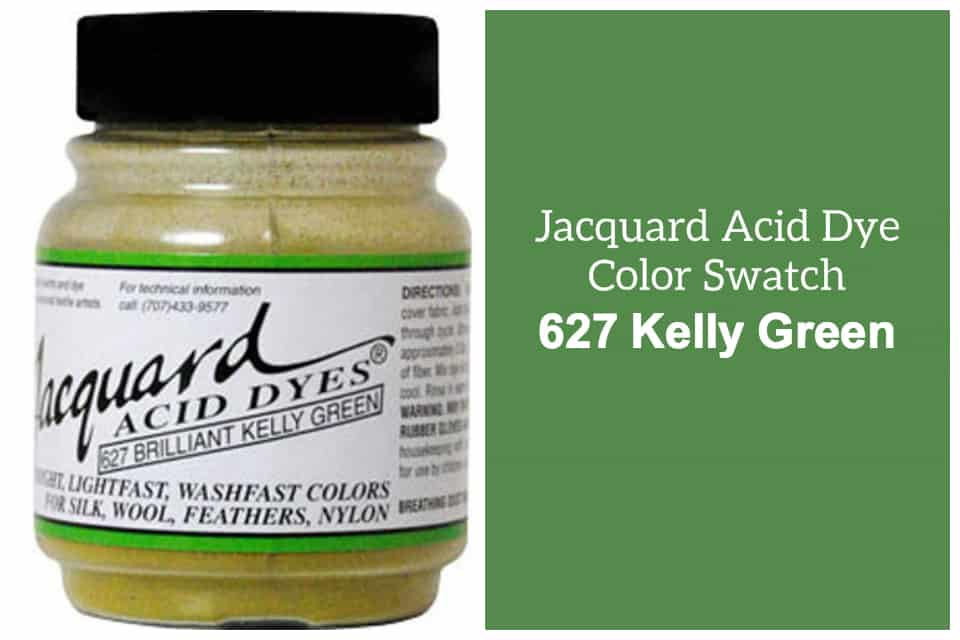 Jacquard Acid  dye 627 Kelly green