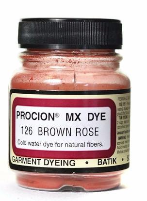 Jacquard Procion MX dye 2126 rose brown