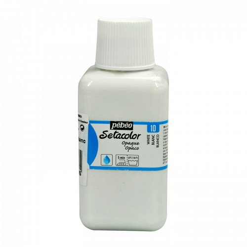Pebeo Setacolor opaque 10 titanium white 250ml